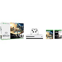 Microsoft Xbox One S 1TB Console - Assassin's Creed Origins Bonus Bundle - Game Pad Supported - Wireless - White - AMD Radeon Graphics Core Next - 3840 x 2160 - 16:9 - 2160p - Blu-ray Disc Player - 1 TB HDD - Gigabit Ethernet - - Octa-core (8 Core) 234-0