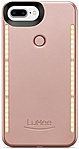 Lumee Duo iPhone 7 Plus, 6S Plus, 6 Plus Case - iPhone 6S Plus, iPhone 6 Plus, iPhone 7 Plus - Rose - Thermoplastic Polyurethane (TPU) 814167022160 814167022160