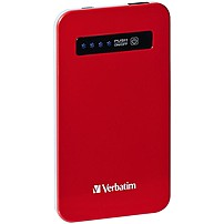 Verbatim Ultra-Slim Power Pack, 4200mAh - Red 98453 98453