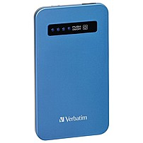 Verbatim Ultra-Slim Power Pack, 4200mAh - Aqua Blue 98451 98451
