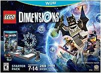 Warner Bros 883929450398 LEGO Dimensions Game Figure - Starter Pack - Nintendo Wii U 883929450398