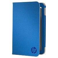 HP Carrying Case (Folio) for 7 Tablet - Blue - 8 Height x...