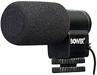 Bower MIC150 Microphone - Wired - Electret Condenser - Sh...