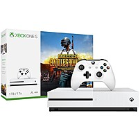 Microsoft Xbox One S PLAYERUNKNOWN'S BATTLEGROUNDS Bundle (1TB) - Game Pad Supported - Wireless - White - AMD Radeon Graphics Core Next - 3840 x 2160 - 16:9 - 2160p - Blu-ray Disc Player - 1 TB HDD - Gigabit Ethernet - - Octa-core (8 Core) 234-00301 234-