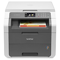 Brother HL-3180CDW LED Multifunction Printer - Color - Duplex - Copier/Printer/Scanner - 23 ppm Mono/23 ppm Color Print - 600 x 2400 dpi Print - Wireless LAN - USB 2.0 HL-3180CDW