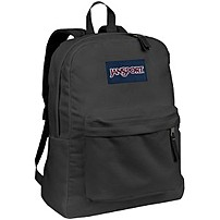 """Jansport SUPERBREAK Carrying Case (Backpack) for Accessories - Forge Gray - Polyester - Shoulder Strap, Handle - 16.7"""" Height x 13"""" Width x 8.5"""" Depth T5016XD"""