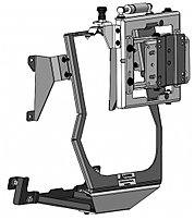 Havis C-DMM-135 Swing Out Dash Monitor Mount Base for 201...