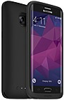 Mophie Juice Pack Made for Galaxy S7 edge - Black - Rubberized 3409_JP-SGS7E-BLK