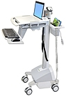 Ergotron StyleView EMR Laptop Cart LiFe Powered - 20 lb C...