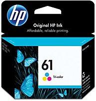 Image of HP 61 CH562W Tri-Color Original Ink Cartridge for Deskjet Printer