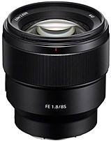 Sony FE 85mm f/1.8 Telephoto Lens for Sony E-mount Black SEL85F18