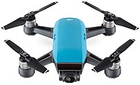 DJI CP.PT.000733 Spark Quadcopter with 12 Megapixels Camera - Wi-Fi - Sky Blue