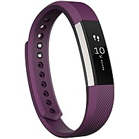 Fitbit Alta Smart Band - Wrist - Accelerometer - Calendar, Silent Alarm, Text Messaging - Sleep Quality, Calories Burned, Steps Taken, Distance Traveled - Bluetooth - Bluetooth 4.0 - 120 Hour - Plum -