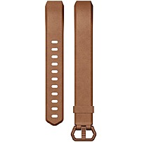 Fitbit Sleep/Activity Monitor Wristband - Brown - Leather FB163LBBRL
