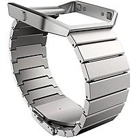 Fitbit Sleep/Activity Monitor Wristband - Steel - Stainless Steel FB159MLSR