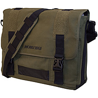Mobile Edge ECO Messenger Laptop Bag Olive MECME9