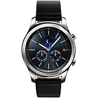 Samsung Gear S3 classic Smart Watch - Wrist - Accelerometer, Barometer, Gyro Sensor, Heart Rate Monitor, Ambient Light Sensor, Altimeter - Text Messaging, Email - Heart Rate, Sleep Quality, Speed, Ste