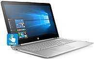 """HP 2-in-1 15.6"""" Touch-Screen Laptop Intel Core i7 8GB Memory 256GB Solid State Drive HP finish in natural silver 15-AQ210NR"""