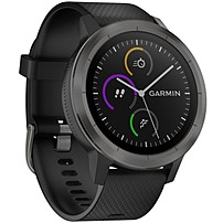 Garmin Vivoactive 3 010-01769-11 GPS Smart Watch - Heart Rate Monitor - Black