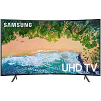 "Samsung 55"" Class LED NU7300 Series Curved 2160p Smart 4K Ultra HD TV with HDR UN55NU7300FXZA"