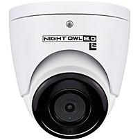 Night Owl Indoor/Outdoor 2160p Wired Network Surveillance Camera Black/White CAM-IH8-DA