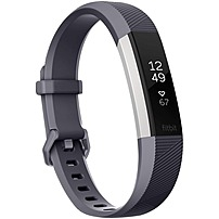 Fitbit Alta HR Heart Rate + Fitness Wristband - Wrist - Accelerometer, Heart Rate Monitor - Calendar, Clock Display, Silent Alarm, Alarm, Text Messaging - Sleep Quality, Calories Burned, Heart Rate, S