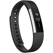 Fitbit Alta Smart Band - Wrist - Accelerometer - Calendar, Silent Alarm, Text Messaging - Sleep Quality, Calories Burned, Steps Taken, Distance Traveled - Bluetooth - Bluetooth 4.0 - 120 Hour - Black