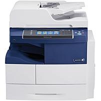 "Image of Xerox WorkCentre 4265/XM Laser Multifunction Printer - Monochrome - Plain Paper Print - Desktop - Copier/Fax/Printer/Scanner - 55 ppm Mono Print - 55 ipm Mono Print (ISO) - 1200 x 1200 dpi Print - Automatic Duplex Print - 7"" Touchscreen - 600 dpi Opt"