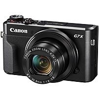 Canon PowerShot G7 X Mark II 20.1-Megapixel Digital Camera Black 1066C001