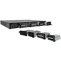 Transition Networks Modular Rack Mount Hardened Layer 2 S...
