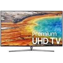 "Samsung 55"" Class (54.6"" Diag.) LED 2160p Smart 4K Ultra HD TV with High Dynamic Range Gray UN55MU9000FXZA"