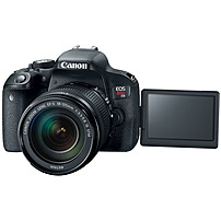 Canon EOS Rebel T7i DSLR Camera with 18-135mm IS STM Lens Black 1894C003