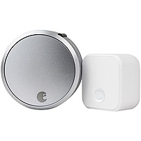 August Smart Lock Pro + Connect Silver AUG-SL03-C02-S03