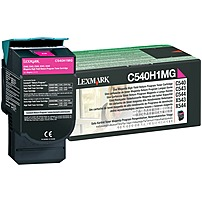 Image of Lexmark Original Toner Cartridge - Laser - 2000 Pages - Magenta - 1 Each C540H1MG