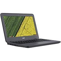"Acer 11.6"" Touch-Screen Chromebook Intel Celeron 4GB Memory 16GB eMMC Flash Memory Gray C731TC42N"