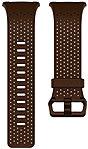Fitbit Smartwatch Band - Cognac - Leather, Aluminum FB164LBDBL