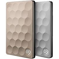 Seagate Backup Plus Slim Ultra 1TB External USB 3.0 Portable Hard Drive Platinum STEH1000100