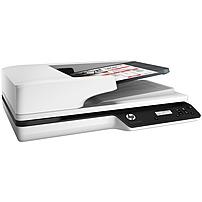 Image of HP ScanJet Pro 3500 f1 Flatbed Scanner - 1200 dpi Optical - 24-bit Color - 25 ppm (Mono) - 25 ppm (Color) - Duplex Scanning - USB L2741ABGJ