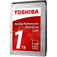 Toshiba 1TB Internal SATA Hard Drive for Laptops Black/Silver HDWJ110XZSTA