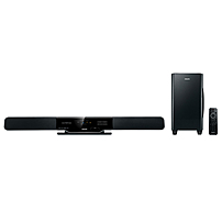 Image of Philips HSB2313 2.1 Home Theater System - 300 W RMS - A/V Receiver - Dolby Pro Logic II, Dolby Digital - HDMI - USB HSB2313A