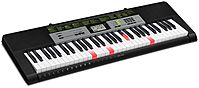 Image of Casio LK-135ST 61-Key Digital Piano With Presets - Black
