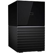 WD My Book Duo 6TB 2-Bay External USB 3.1 Storage Black WDBFBE0060JBK-NESN