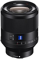 Sony Planar T* FE 50mm F1.4 ZA Lens for Sony E-mount Full Frame and APS-C Cameras SEL50F14Z