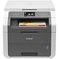 Brother Wireless Color All-In-One Laser Printer White/Gray HL-3180CDW