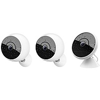 Logitech Circle 2 Indoor/Outdoor 1080p Wi-Fi Home Security Camera (3-Pack) 961-000473