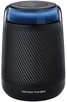 Harman HKALLUREPORBLKAM Allure Portable Smart 2-Way Speaker - Wi-Fi - Black