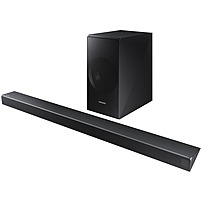 "Samsung 3.1-Channel Soundbar System with 6-1/2"" Wireless Subwoofer and Digital Amplifier Charcoal Black HW-N550/ZA"