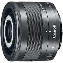 Canon EF-M 28mm f/3.5 MACRO IS STM Lens for Canon EOS M Series Cameras Black 1362C002