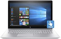 "HP Envy 17.3"" Touch-Screen Laptop Intel Core i7 12GB Memory NVIDIA GeForce MX150 1TB Hard Drive HP Finish In Natural Silver 17-AE110NR"