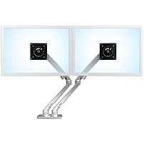 """Image of Ergotron Mounting Arm for LCD Monitor - 24"""" Screen Support - 40 lb Load Capacity - Polished Aluminum 45-496-026"""